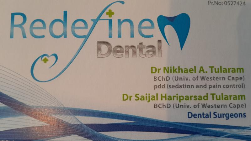 Dr.Nikhael A. Tularam - Redefine Dental - Dentist/Dental Surgeon - Virginia - Durban North - Durban